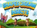 Ігра Shapes Jigsaw Insects