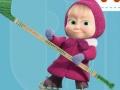თამაშის Masha and the Bear Hockey