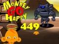 Игра Monkey Go Happy Stage 449