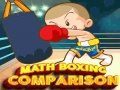 Игра Math Boxing Comparison