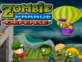 Cluiche Zombie Parade Defense