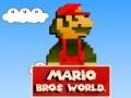 Игра Mario Bros World