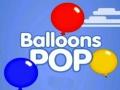 Oyunu Balloons Pop