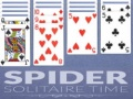 Spel Spider Solitaire Time
