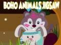 Игра Boho Animals Jigsaw