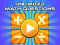 Игра Unlimited Math Questions