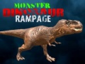 Игра Monster Dinosaur Rampage