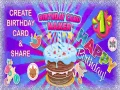 Oyunu Birthday Card Maker