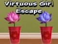 Игра Virtuous Girl Escape