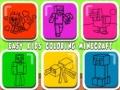Игра Easy Kids Coloring Minecraft