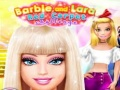 Permainan Barbie and Lara Red Carpet Challenge