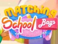 Игра Matching School Bags