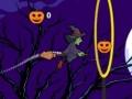Игра Flying witch halloween