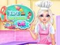Игра Elsa With Ice Cream Car