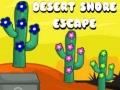 Игра Desert Shore Escape