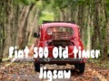 Игра Fiat 500 Old Timer Jigsaw