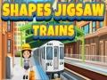 Игра Shapes jigsaw trains