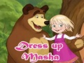 Игра Dress Up Masha