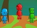 Игра Fireboy And Watergirl Three Players