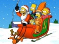 Oyunu Simpsons Christmas Jigsaw Puzzle