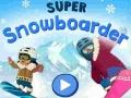 խաղ Super Snowboarder