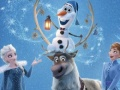 Oyunu Olaf's Frozen Adventure Jigsaw