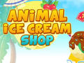 Игра Animal Ice Cream Shop