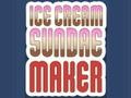 Игра Ice Cream Sundae Maker