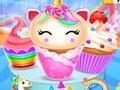 Oyunu Unicorn Mermaid Cupcake Cooking Design