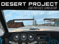 Игра Desert Project Car Physics Simulator