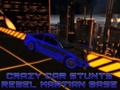 Игра Crazy Car Stunts: Rebel Martian Base
