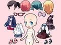 Игра Chibi Anime Princess Doll