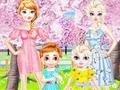Игра Frozen Family Flower Picnic