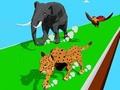 Animal Transform Race 3D ﺔﺒﻌﻟ
