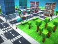 Игра Pixel City Runner 3D