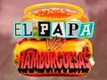 Игра  El Papa vs Hamburguesas