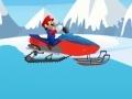 Παιχνίδι Mario Snowmobile