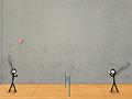 Spēle Stick Figure Badminton