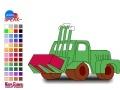 খেলা tractor coloring