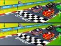 Jeu Racing Cartoon Differences