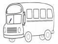 খেলা Student Bus Coloring