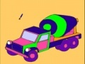 Igra Pink concrete truck coloring
